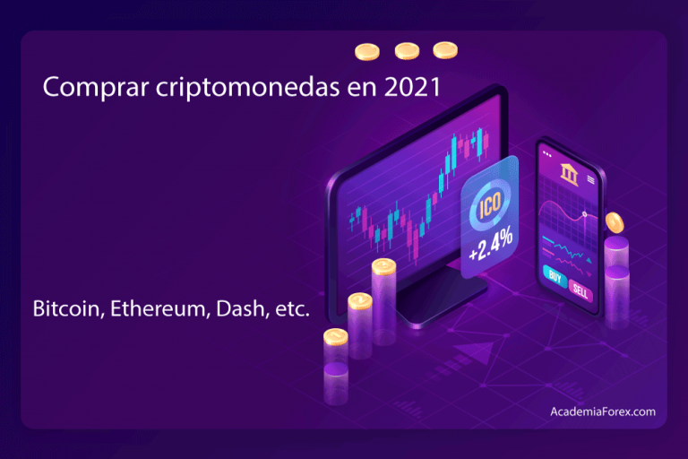 Comprar criptomonedas en 2021: Bitcoin, Ethereum, Dash, etc.